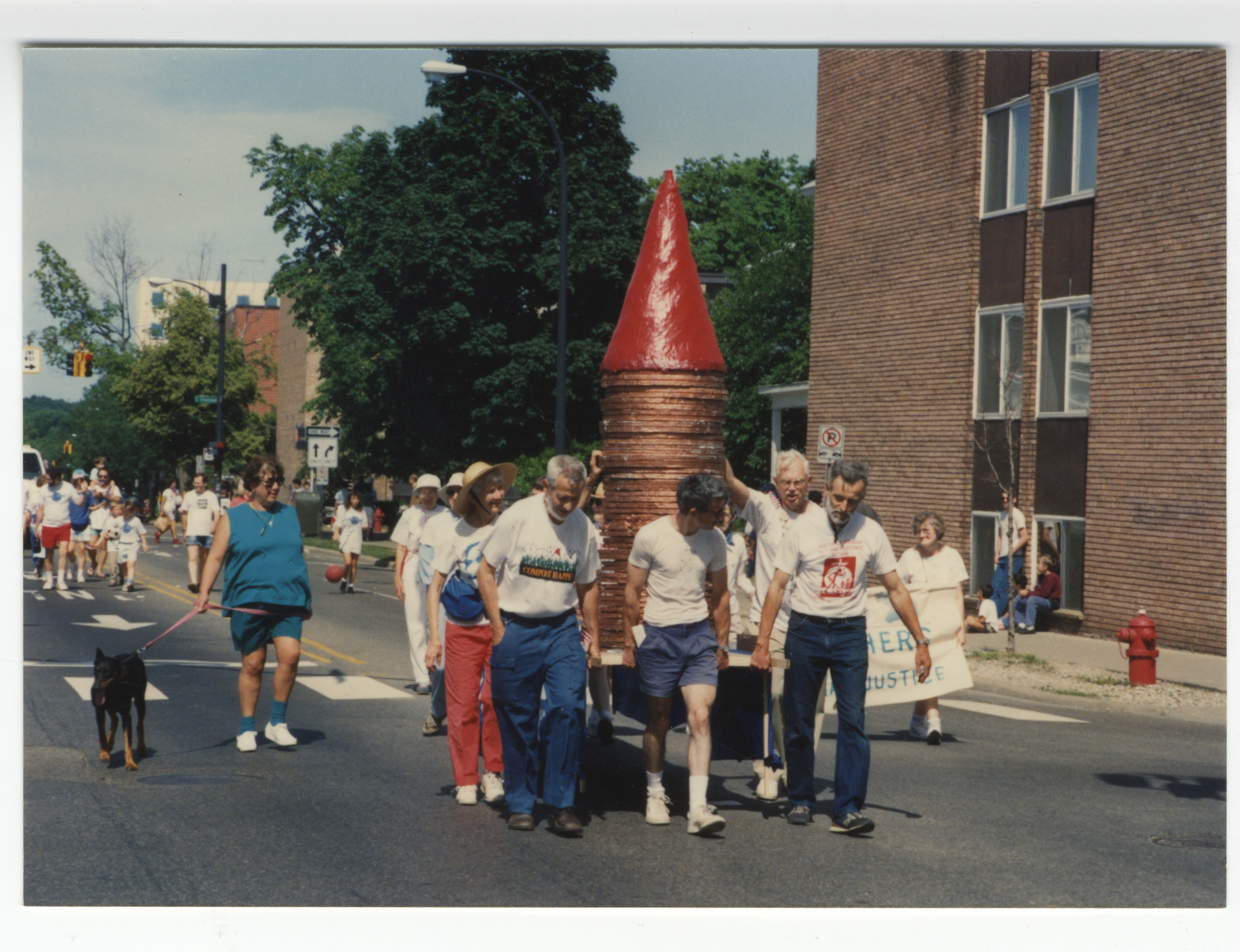 Interfaith Council for Peace and Justice: Fourth of July Parade Float, 1992 image