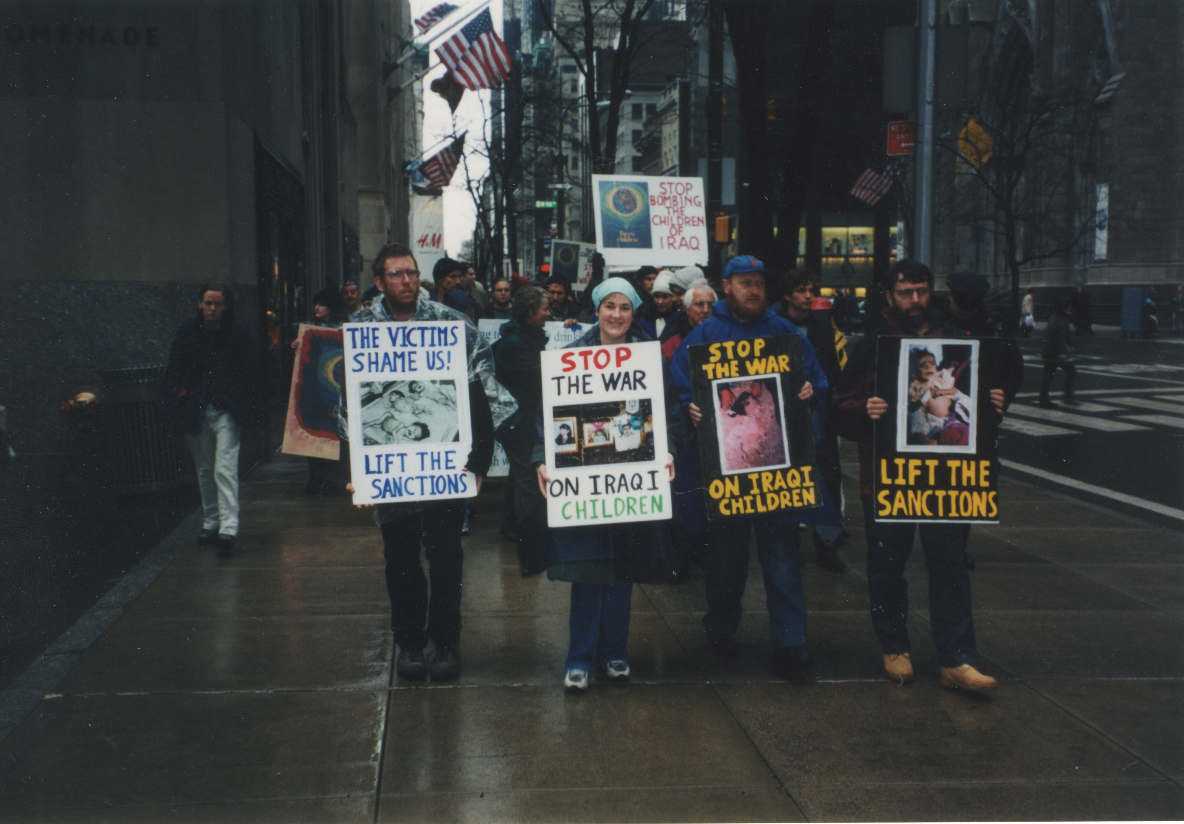 Interfaith Council for Peace and Justice: Antiwar Protest, 2000 image