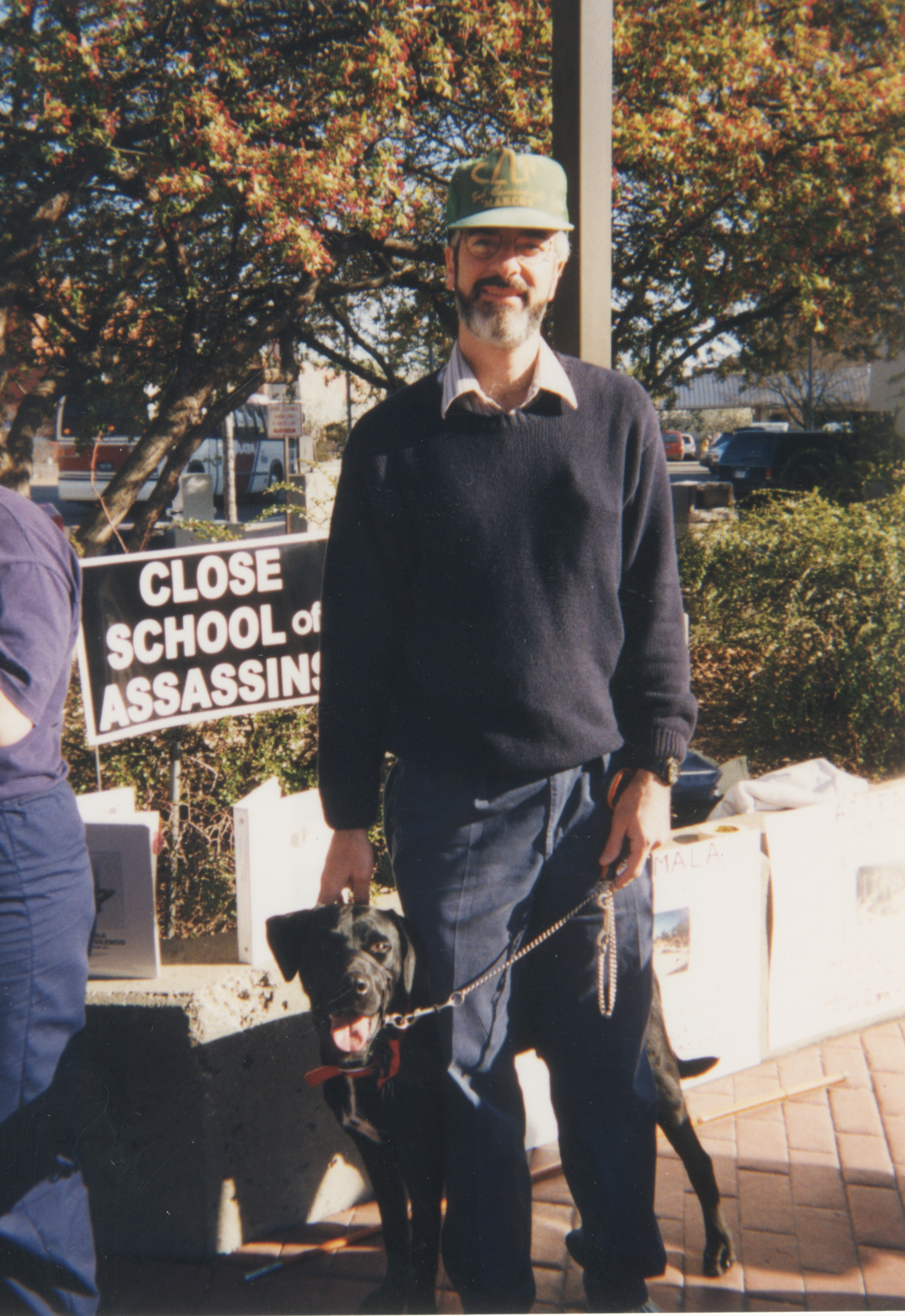 Interfaith Council for Peace and Justice: SOAW Protest, 1999 image