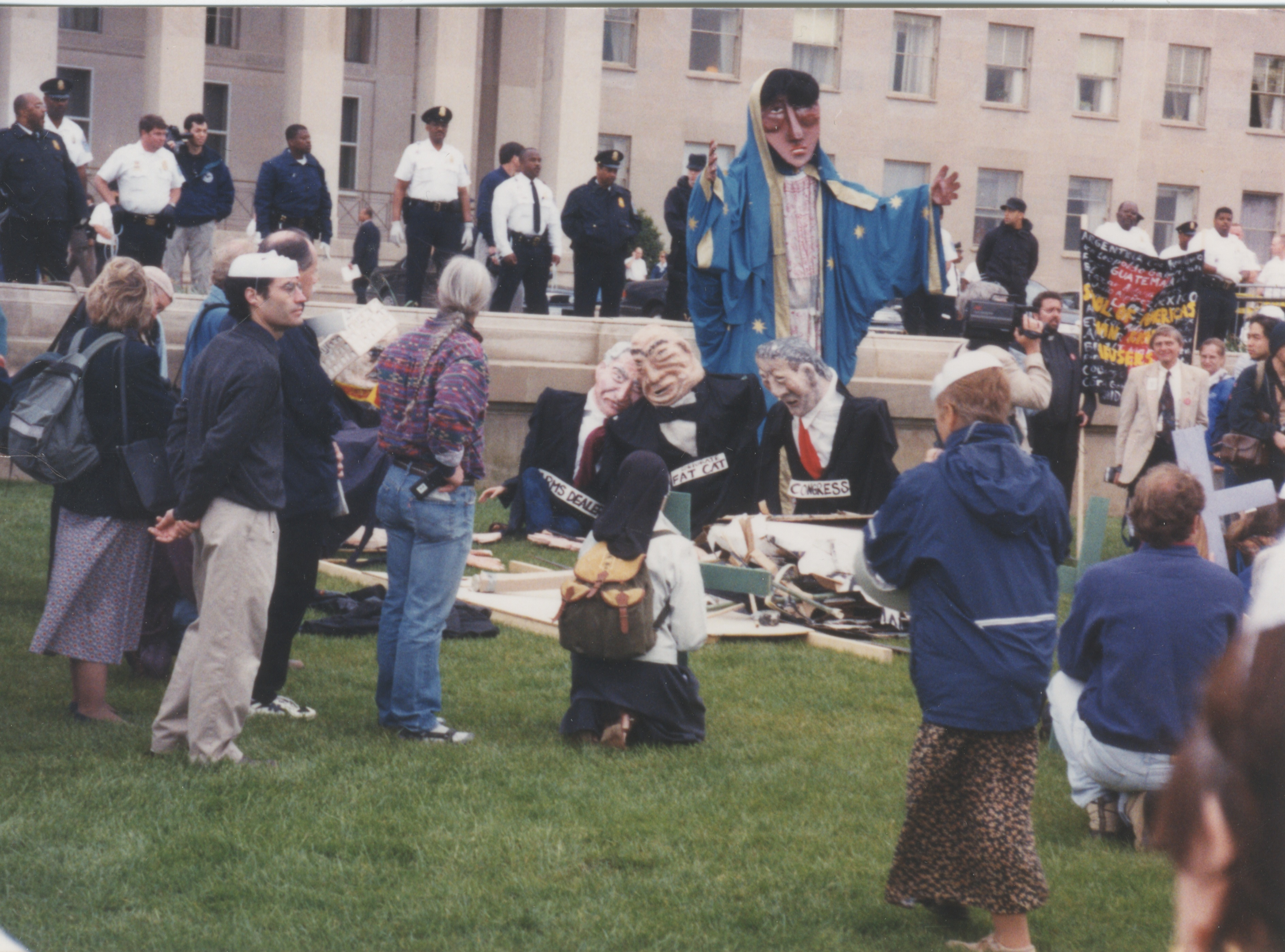 Interfaith Council for Peace and Justice: Protest Against the School of the Americas, 2000 image