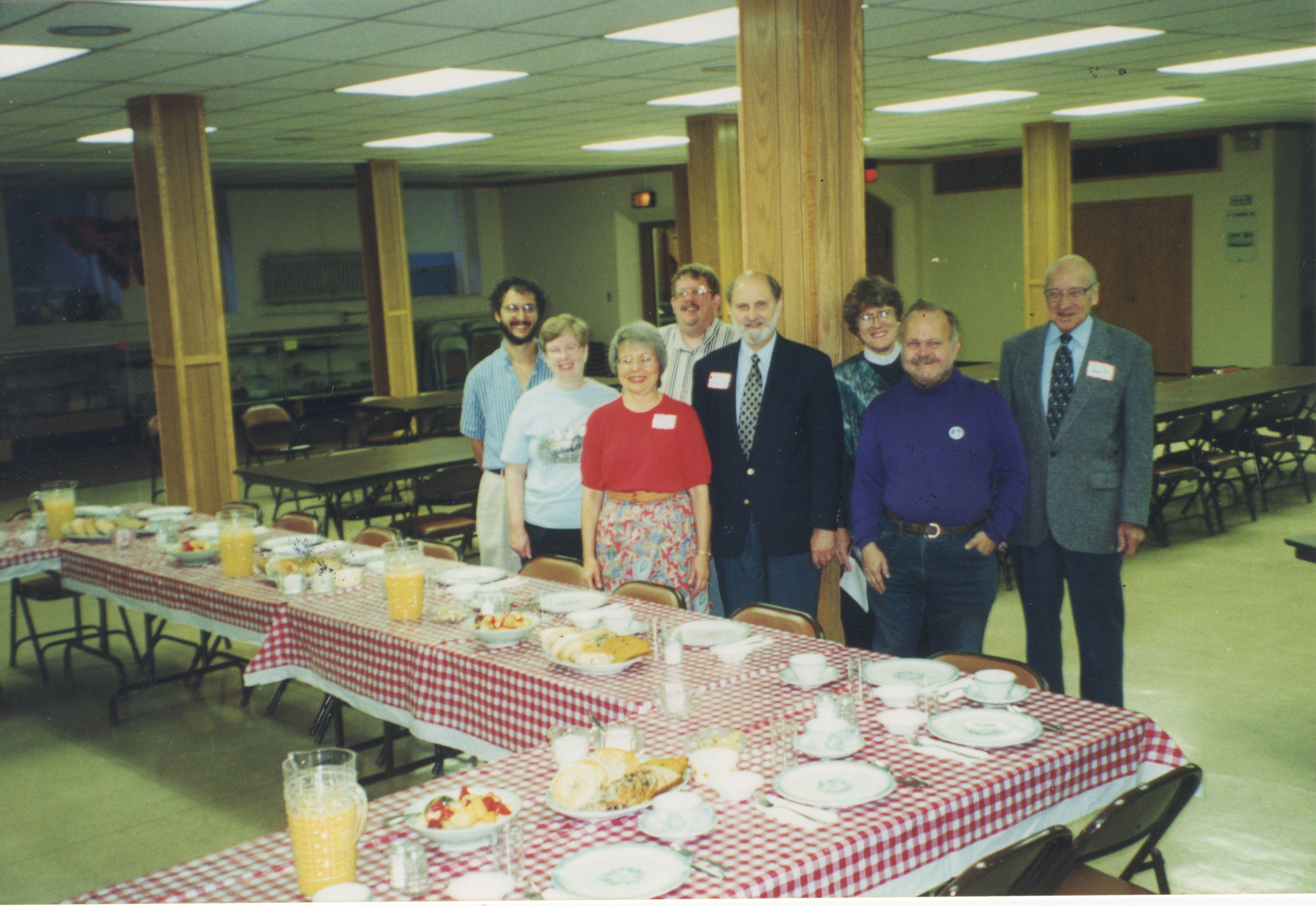 Interfaith Council for Peace and Justice: Group Photo at Clergy Breakfast, 1999 image