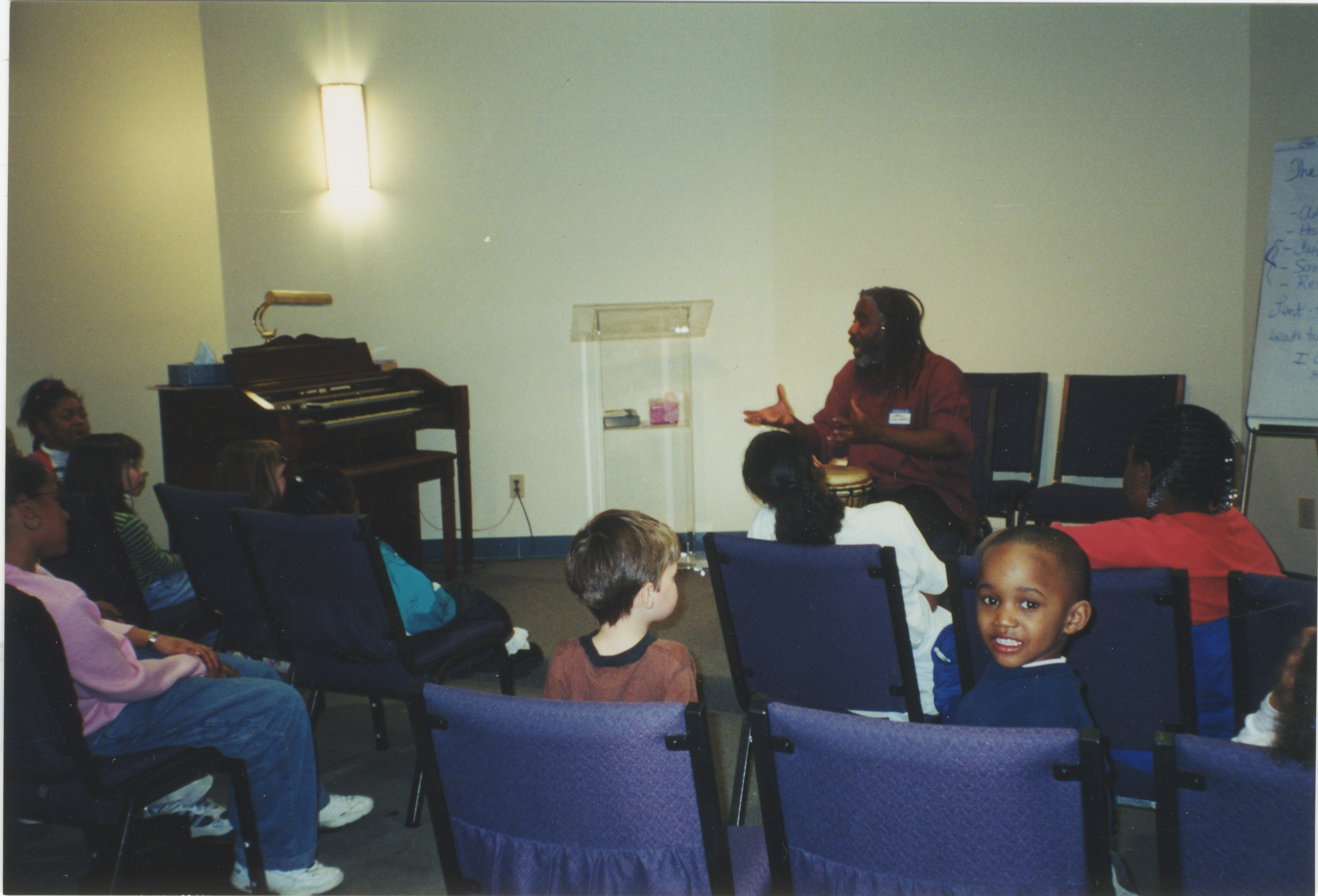 Interfaith Council for Peace and Justice: Annual Meeting at Brown Chapel AME Church, 2000 image