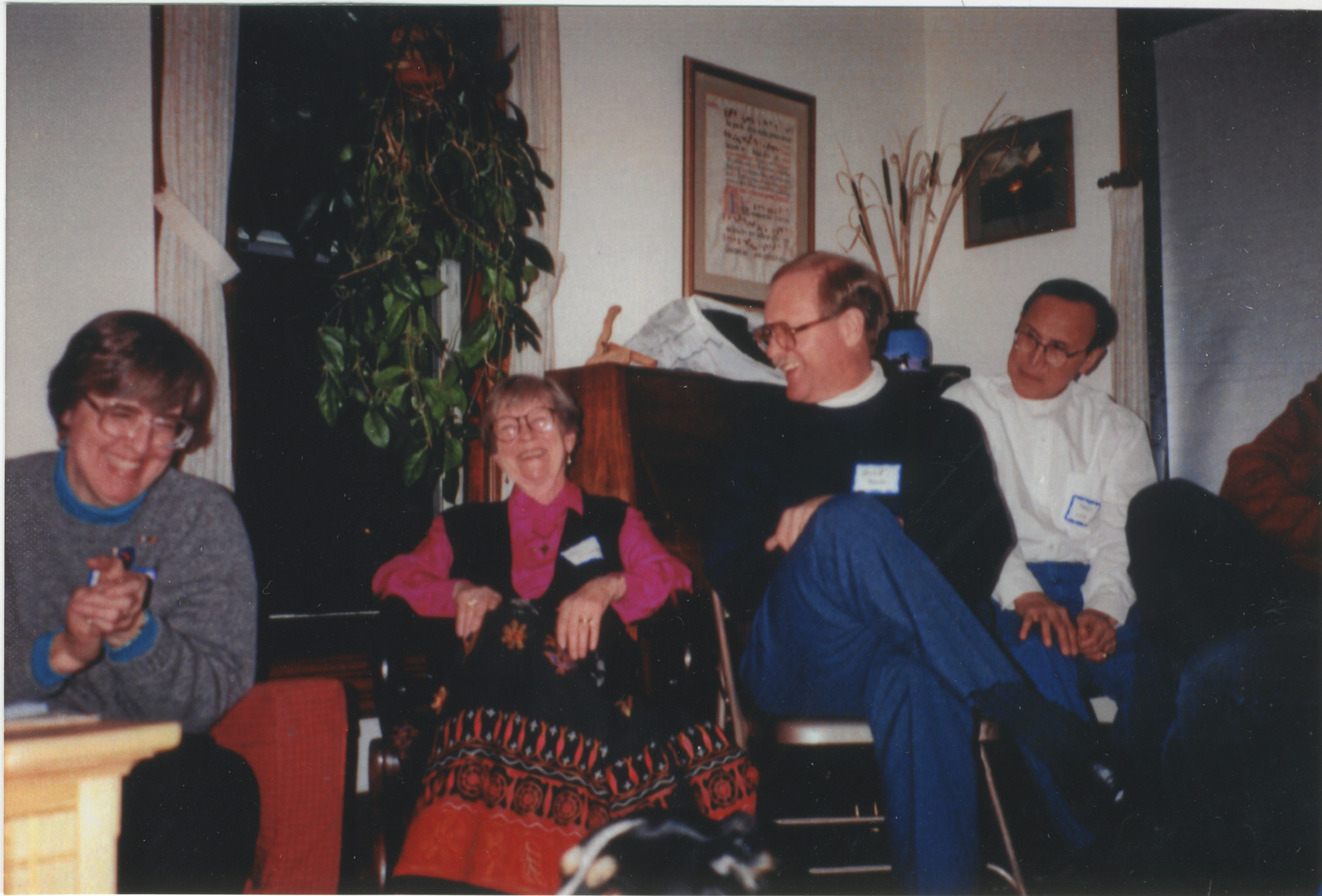 Interfaith Council for Peace and Justice: 30th Anniversary Potluck, 1996 image