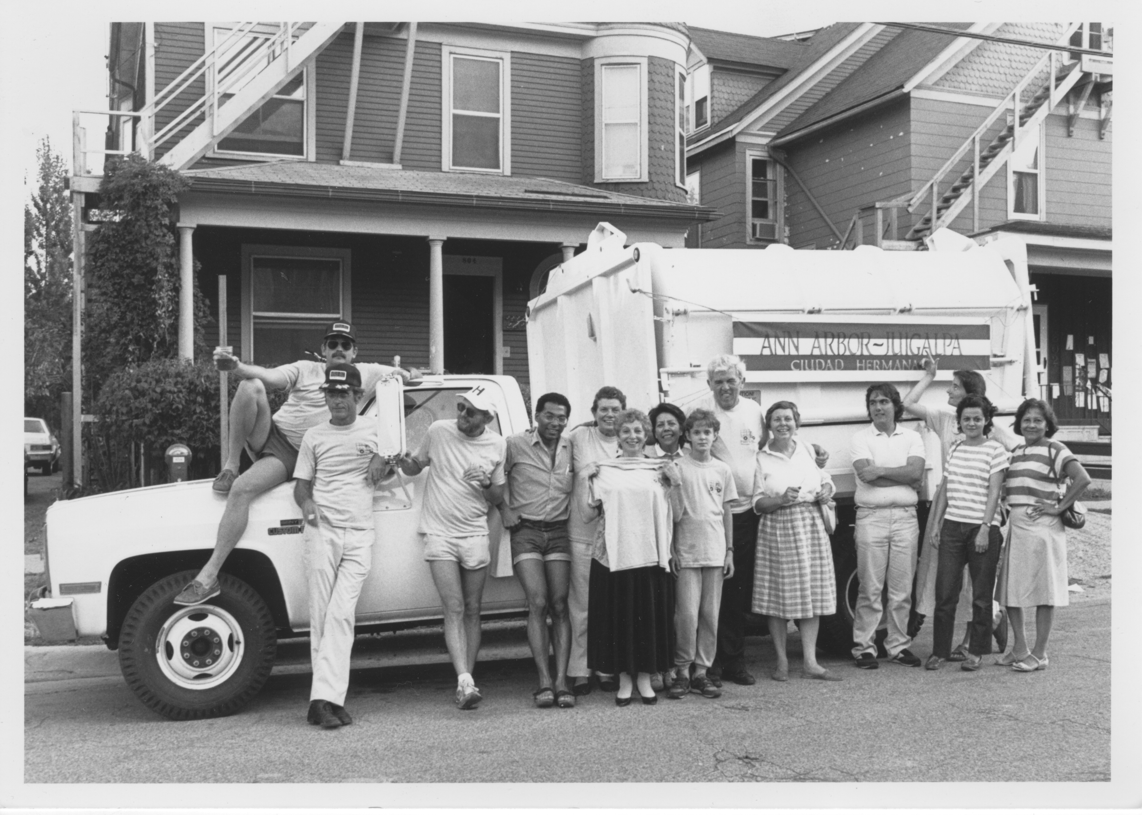 Interfaith Council for Peace and Justice: Garbage Truck - gift from Ann Arbor to Juigalpa, 1987 image
