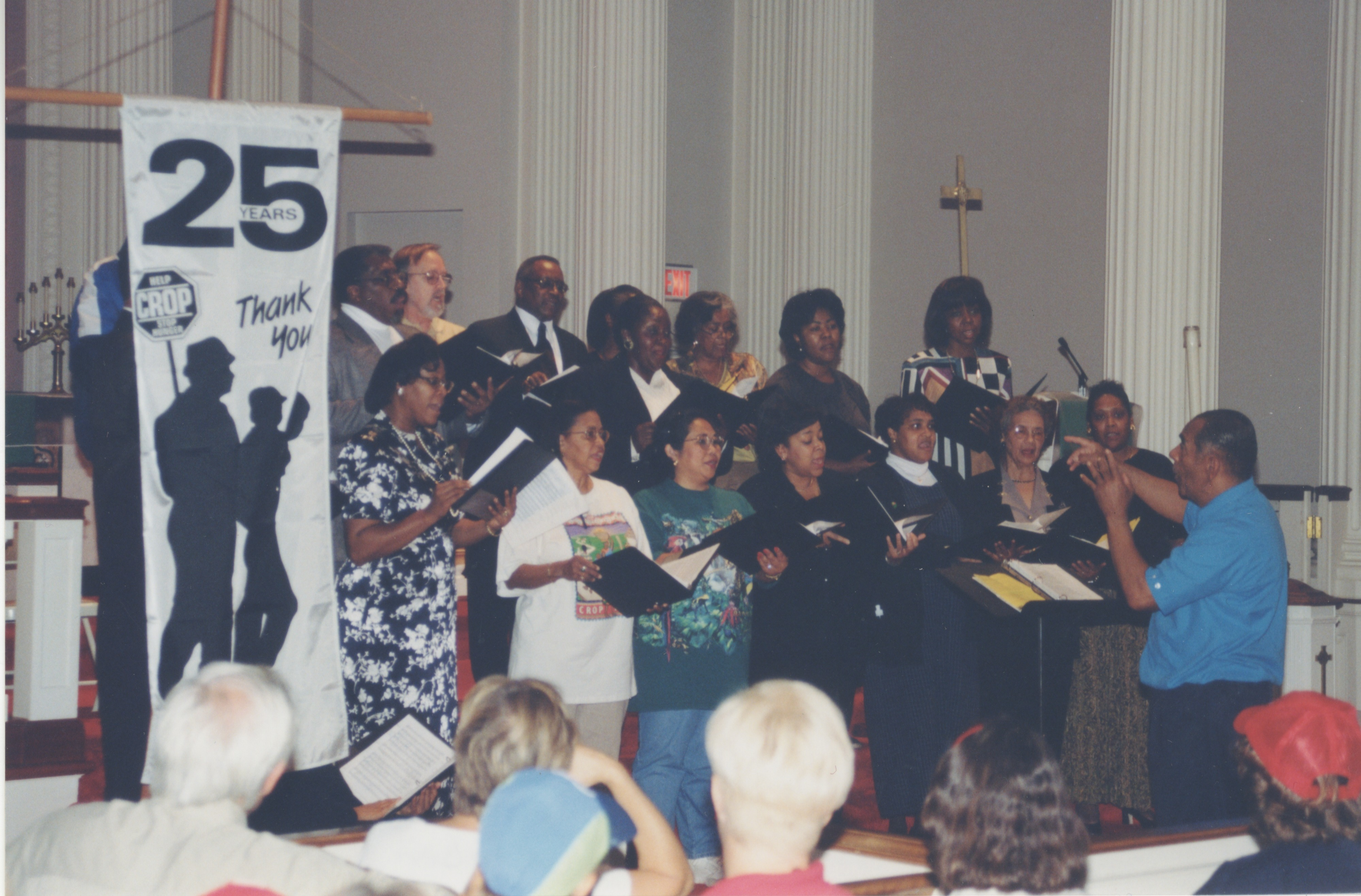 Interfaith Council for Peace and Justice: Dr. Willis Patterson and Our Own Thing Chorale, 1999 image