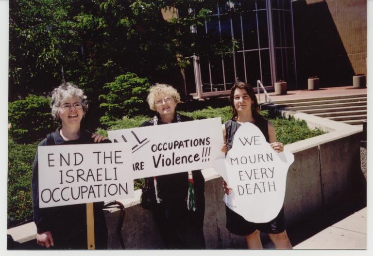 Interfaith Council for Peace and Justice: Israeli Occupation Protest image