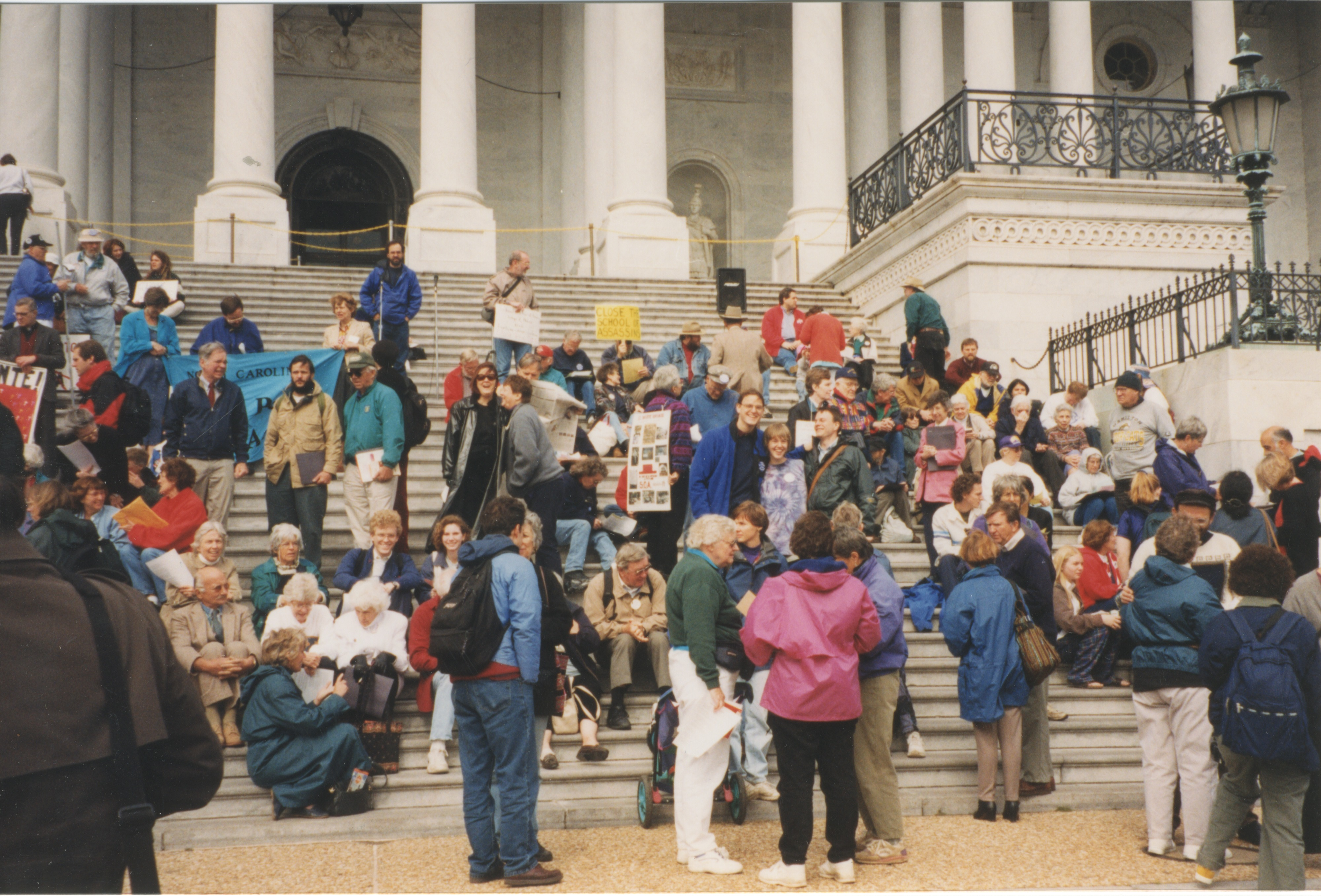 Interfaith Council for Peace and Justice: School of Americas Protest in Washington, D.C., 1998 image
