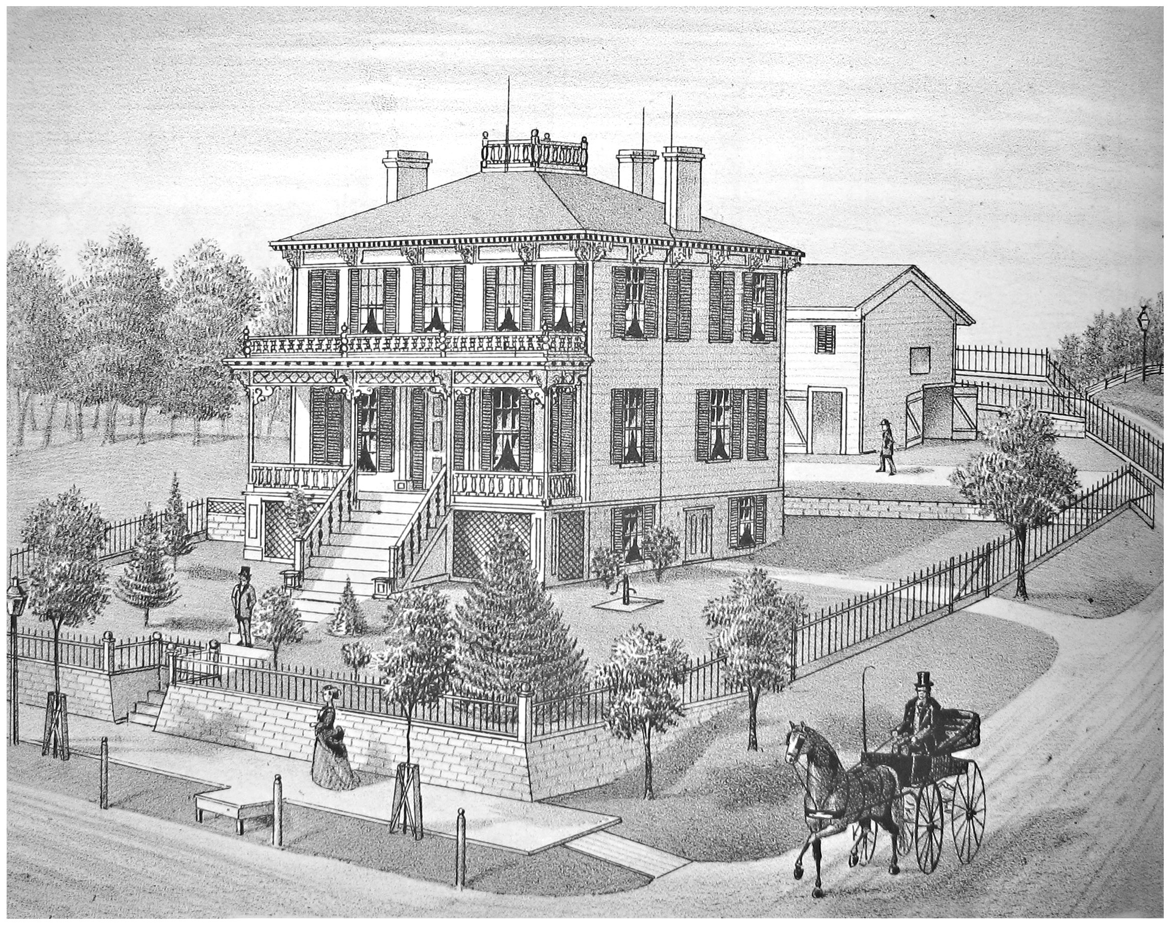 Kelloggs Home, 1830s | Ann Arb...