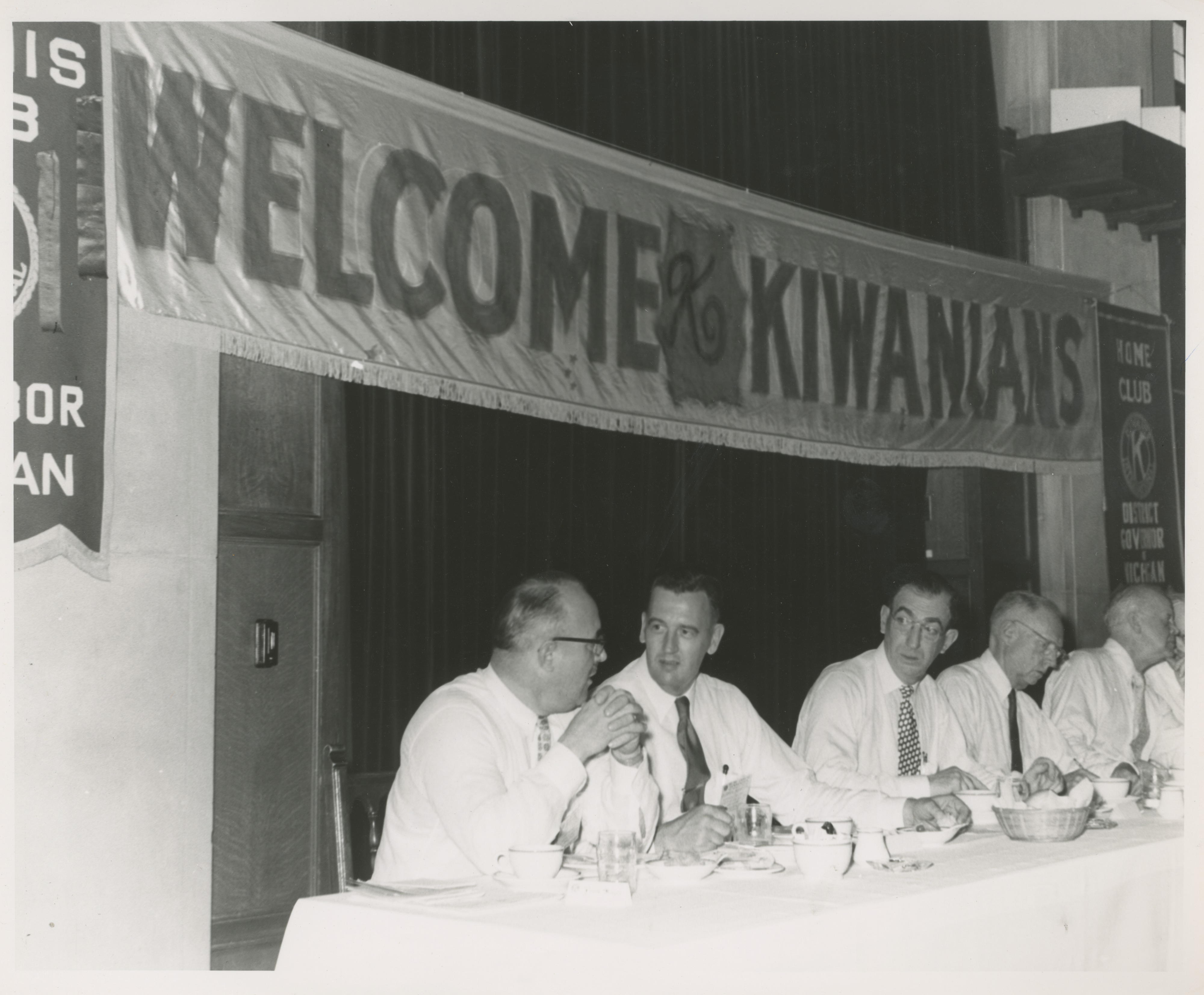 Kiwanis International District Convention at Michigan Union, 1953
