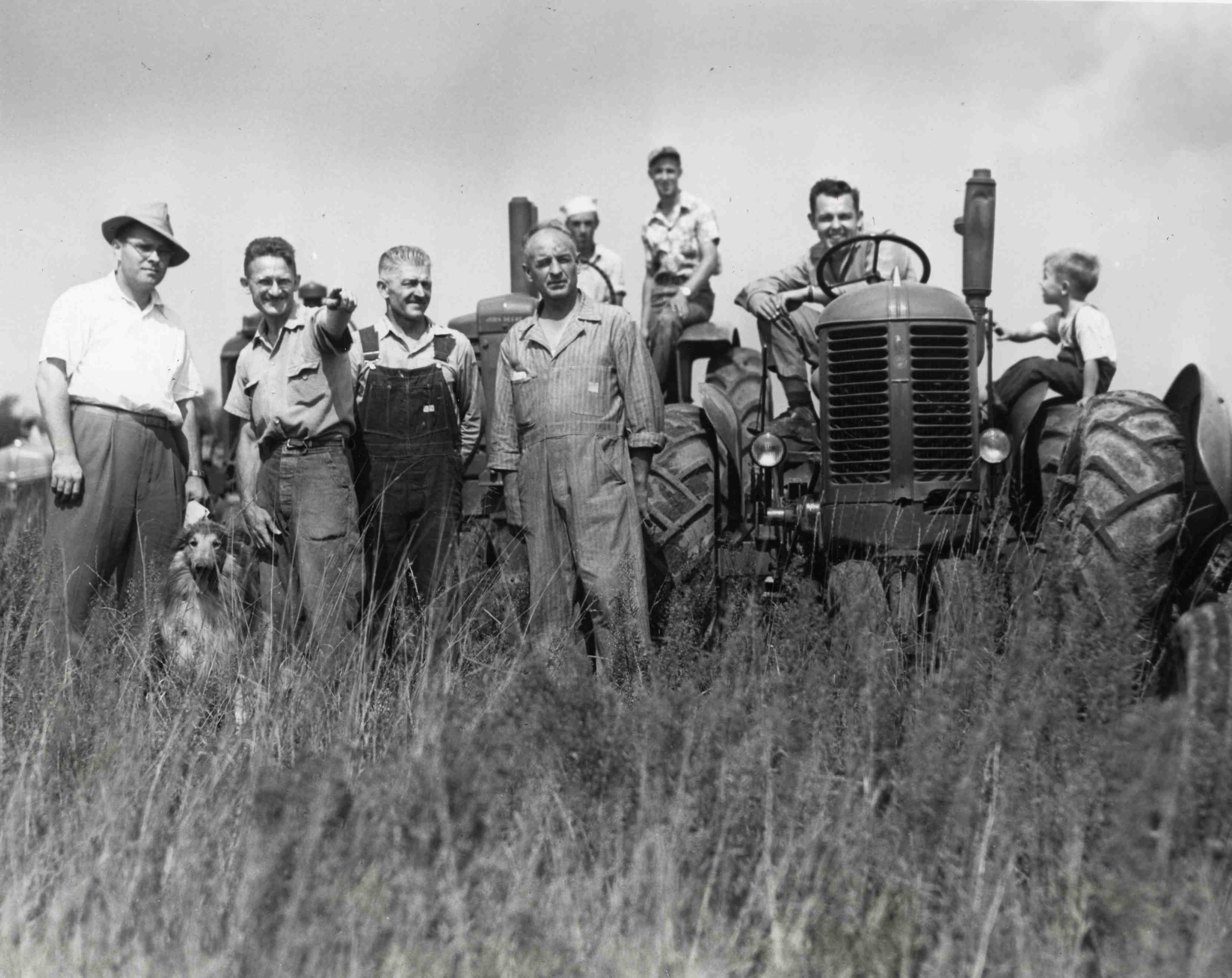 Lord's Acre Cooperative Farming Project, 1947 image
