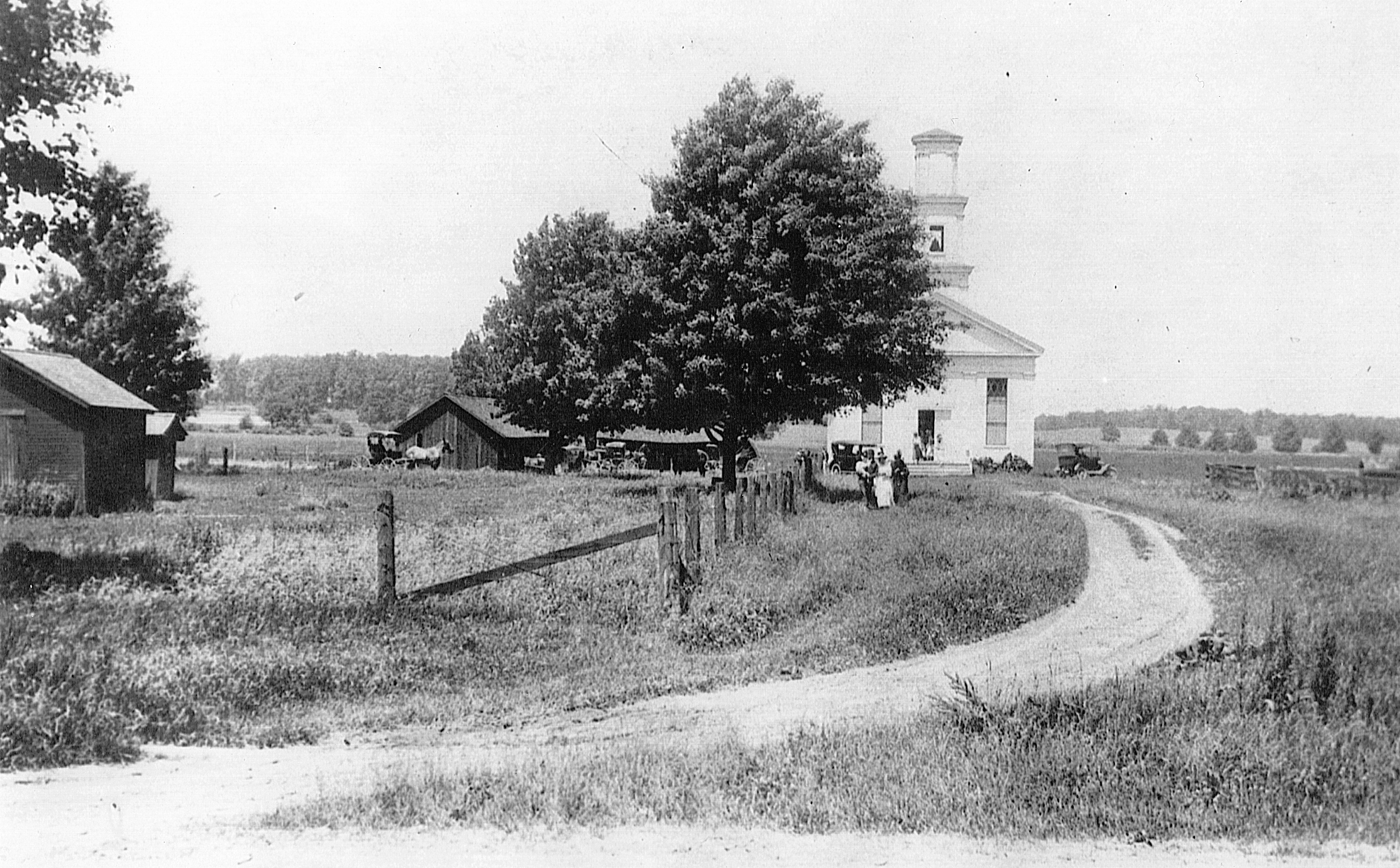 Dixboro Methodist Church, ca. 1916 image