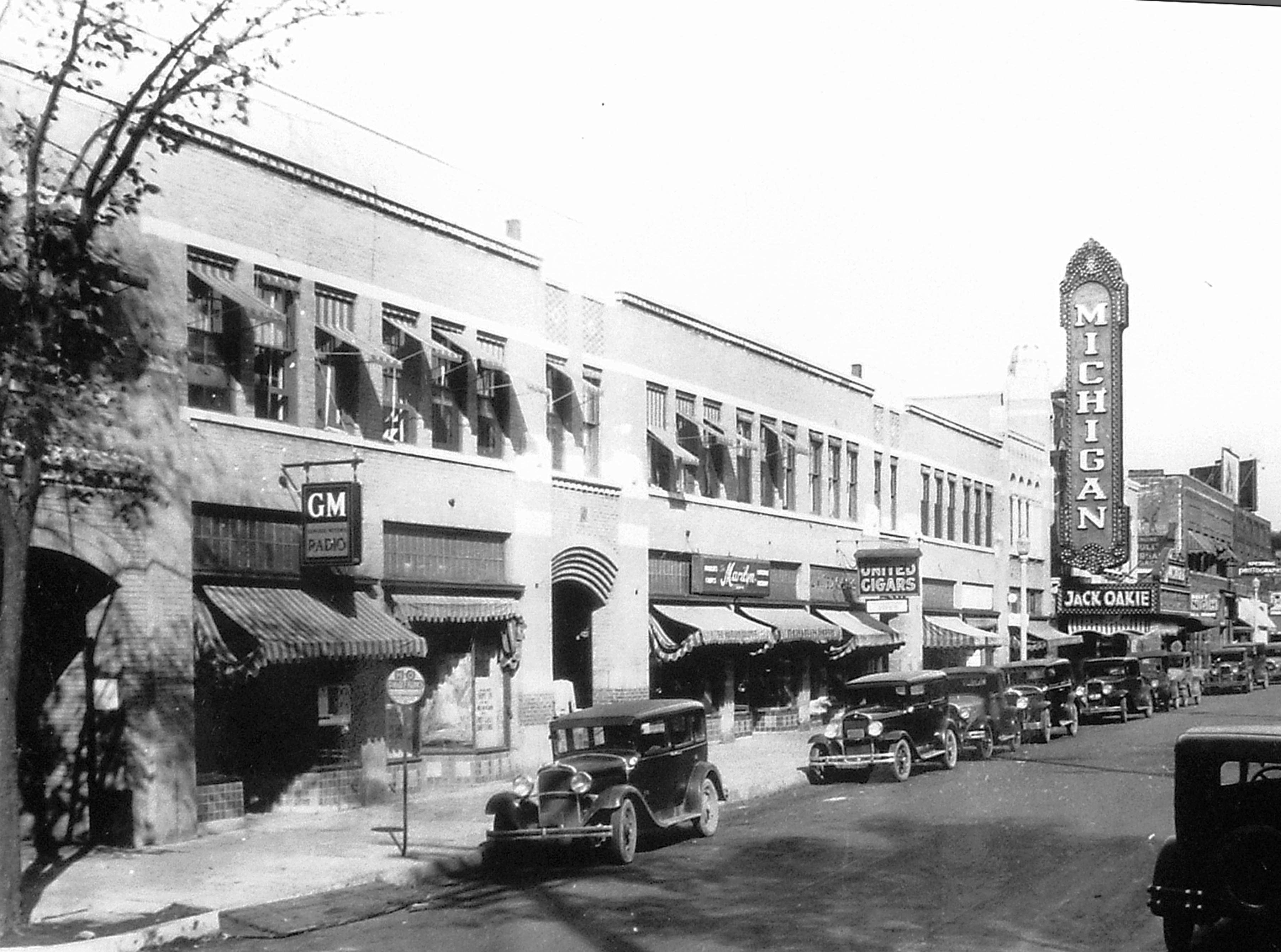 The Michigan Theater shortly after opening, ca. 1928 image