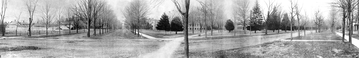 South University and East University panorama image
