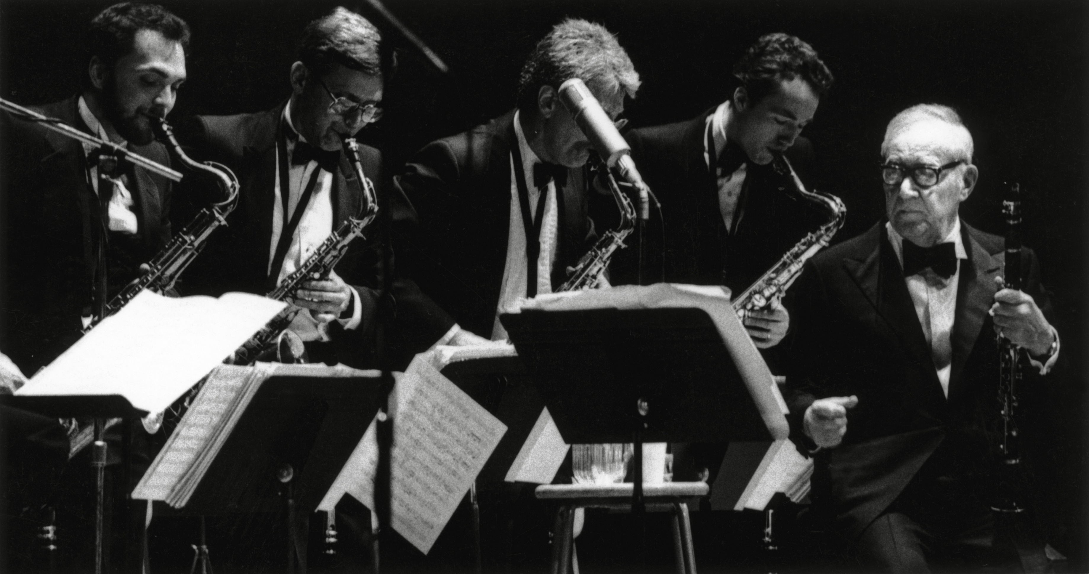 Benny Goodman and his Big Band, March 22, 1986 image