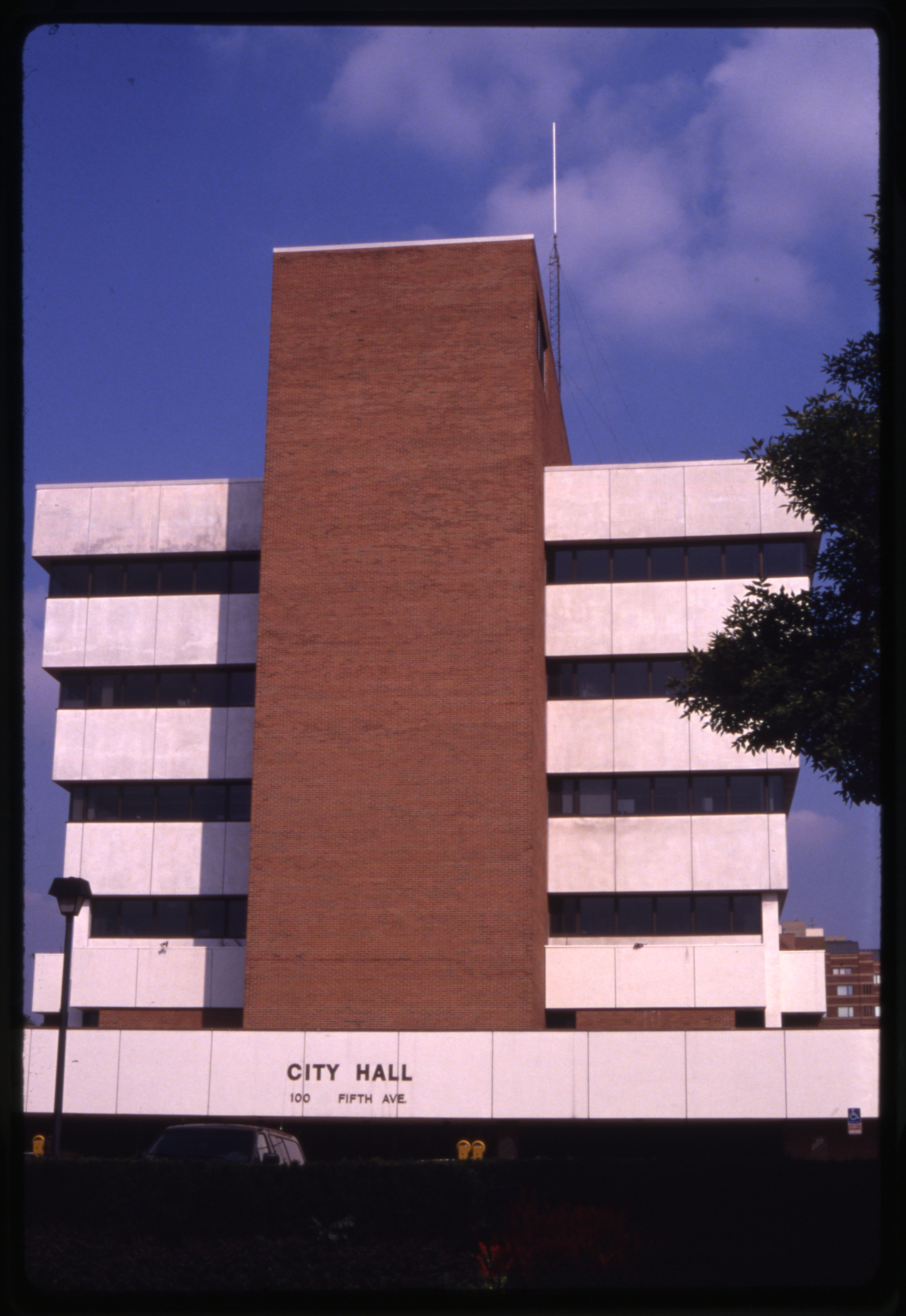 Ann Arbor City Hall, 1992 image