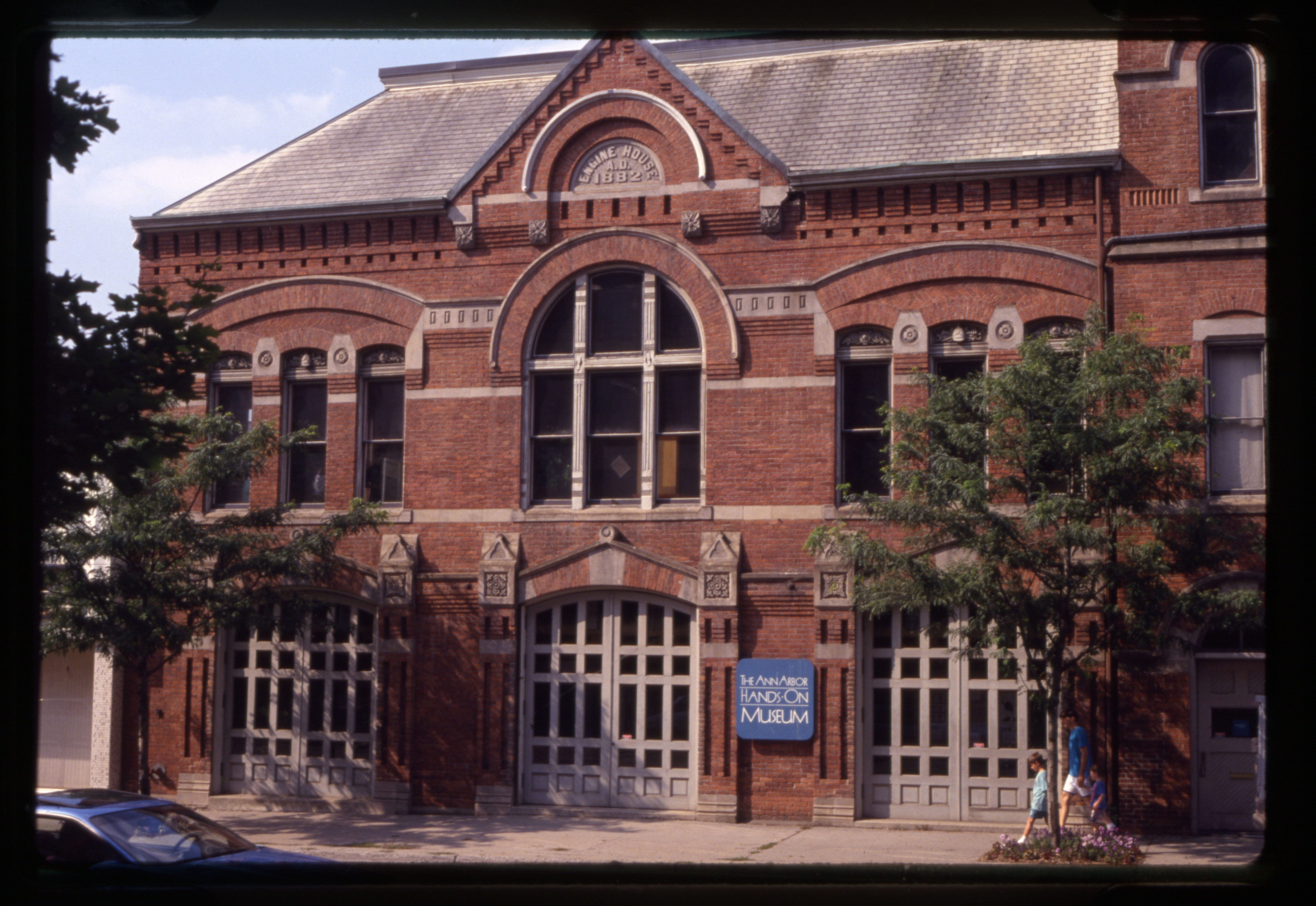 The Ann Arbor Hands On Museum seen from E. Huron St, 1992 image