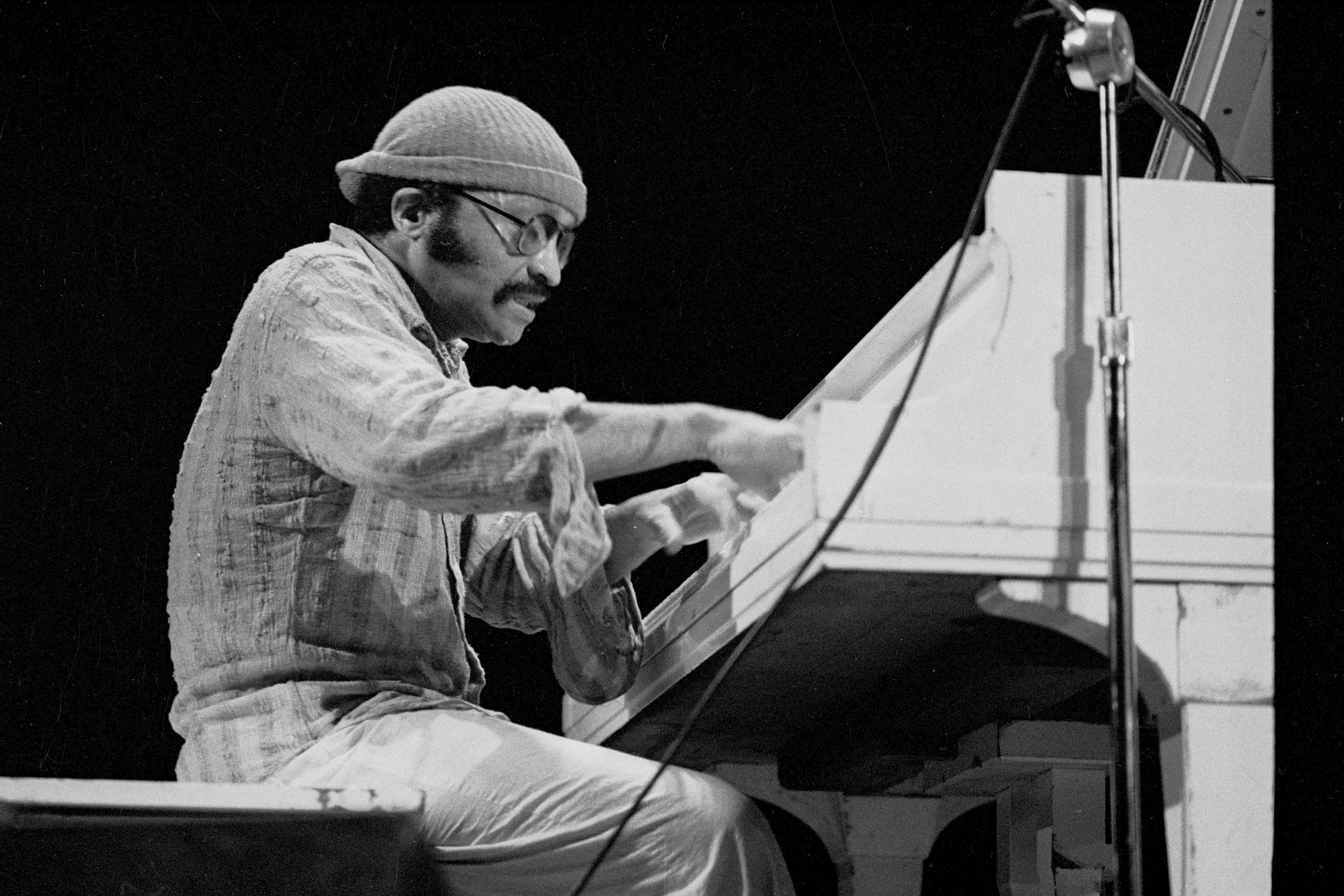 Cecil Taylor at the Power Center, April 1976 image