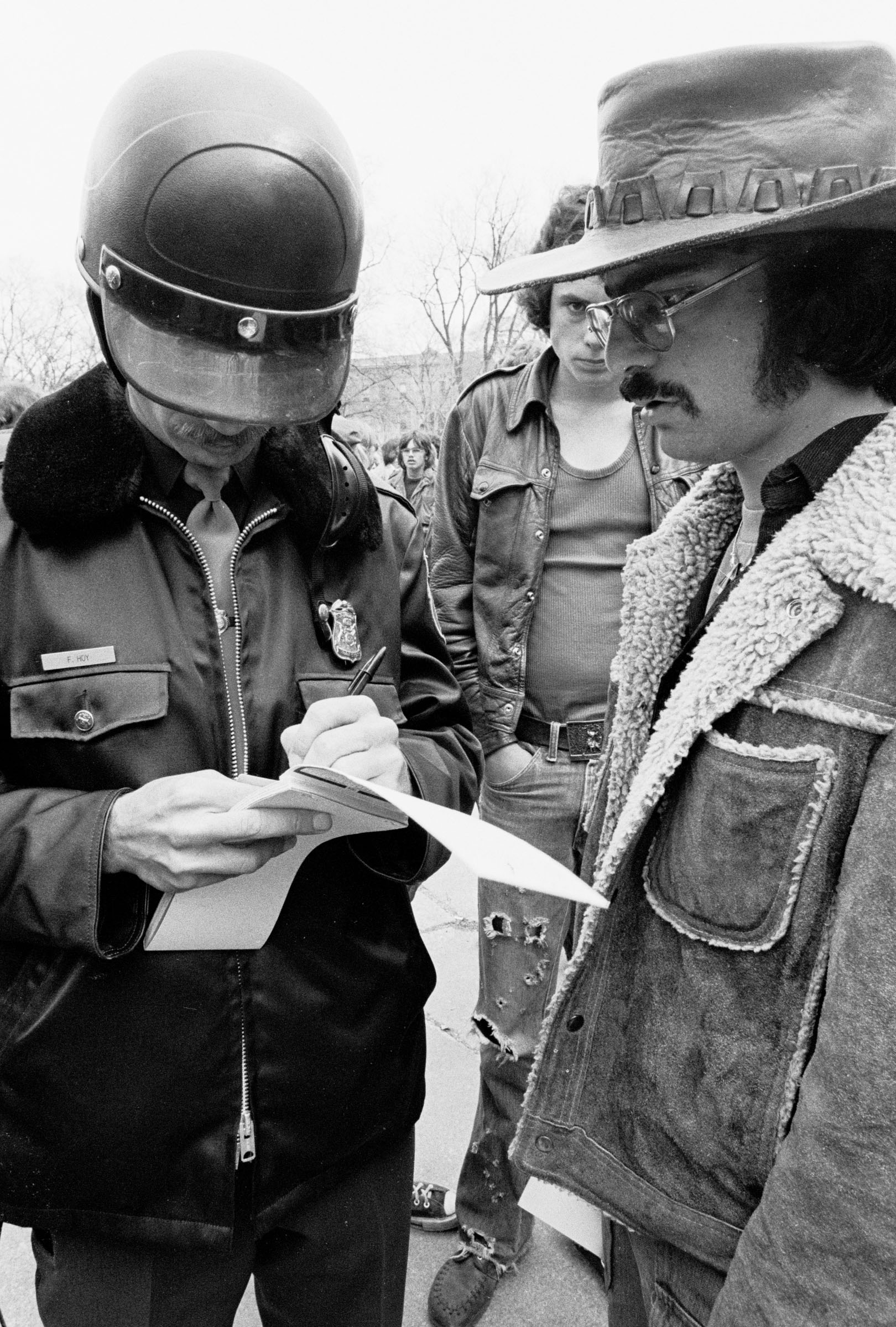 Ann Arbor Hash Bash, April 2, 1977 image