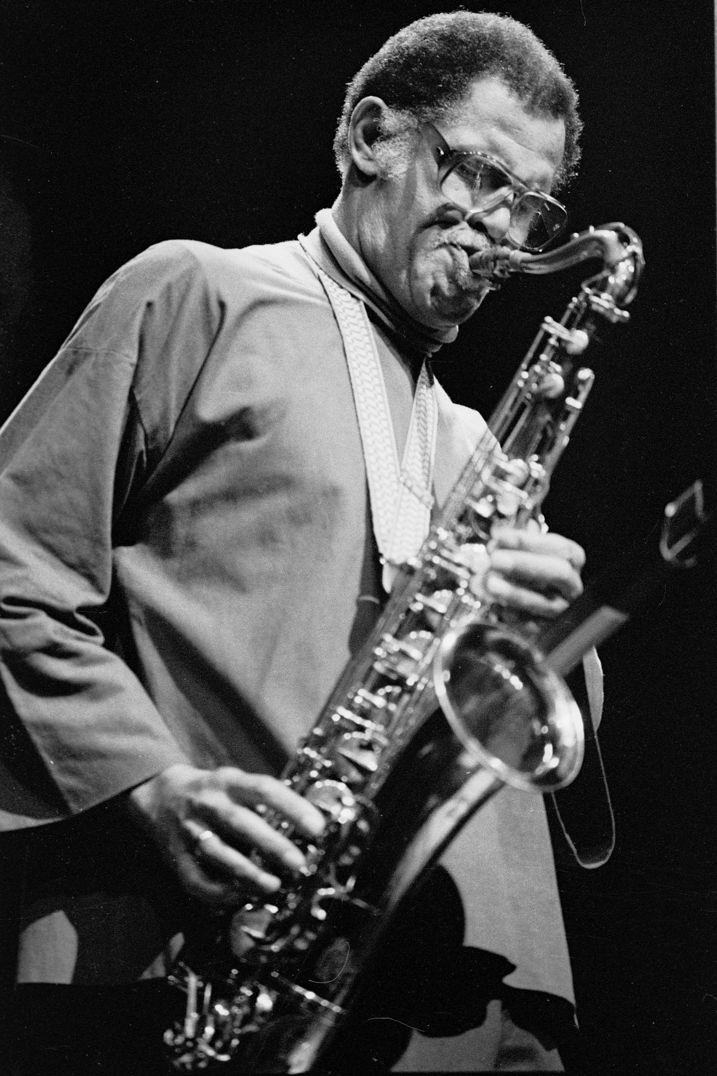 Dexter Gordon at the Power Center, October 21, 1977 image