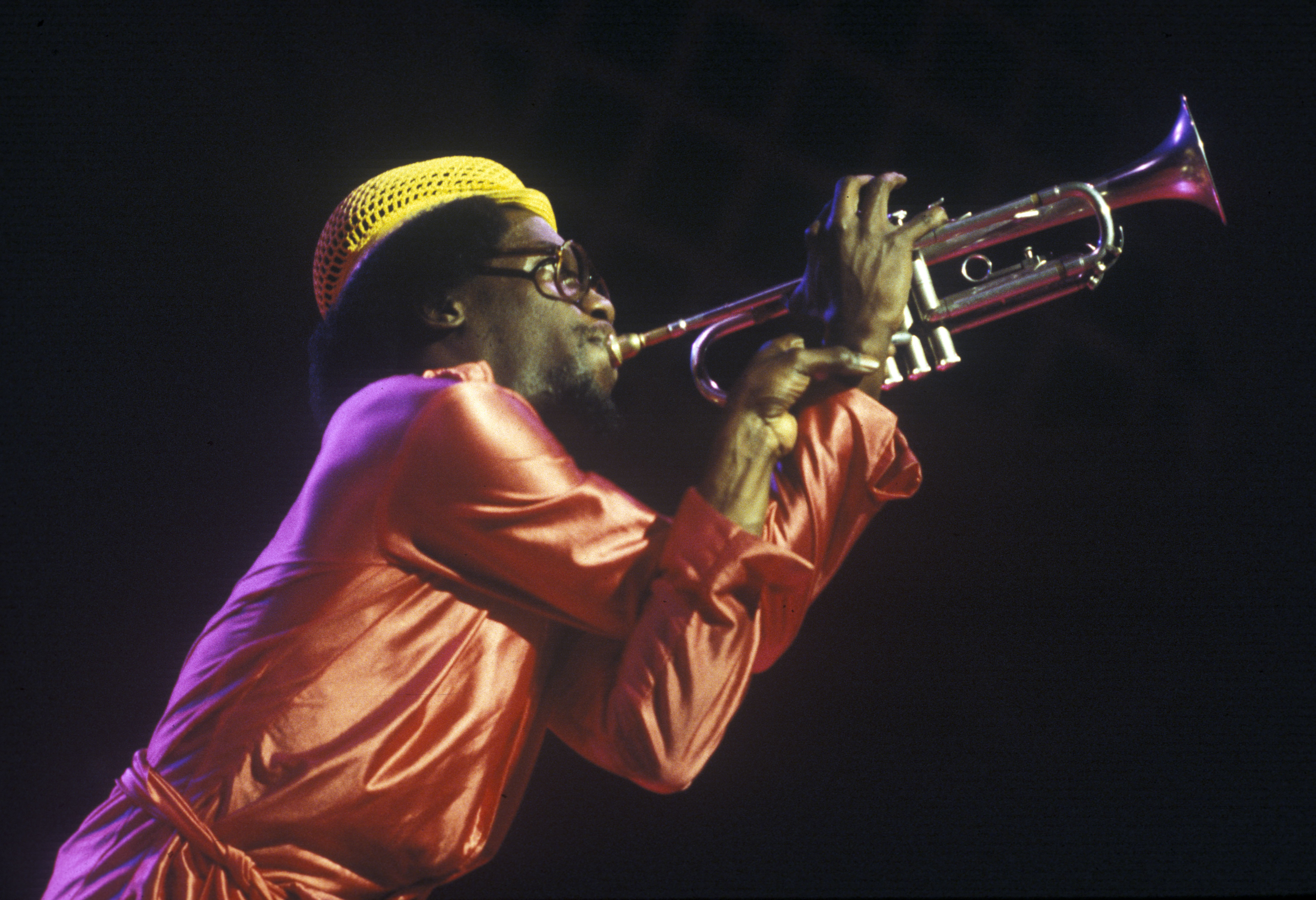 Michael Ray with the Sun Ra Arkestra at Hill Auditorium, September 28, 1979 image