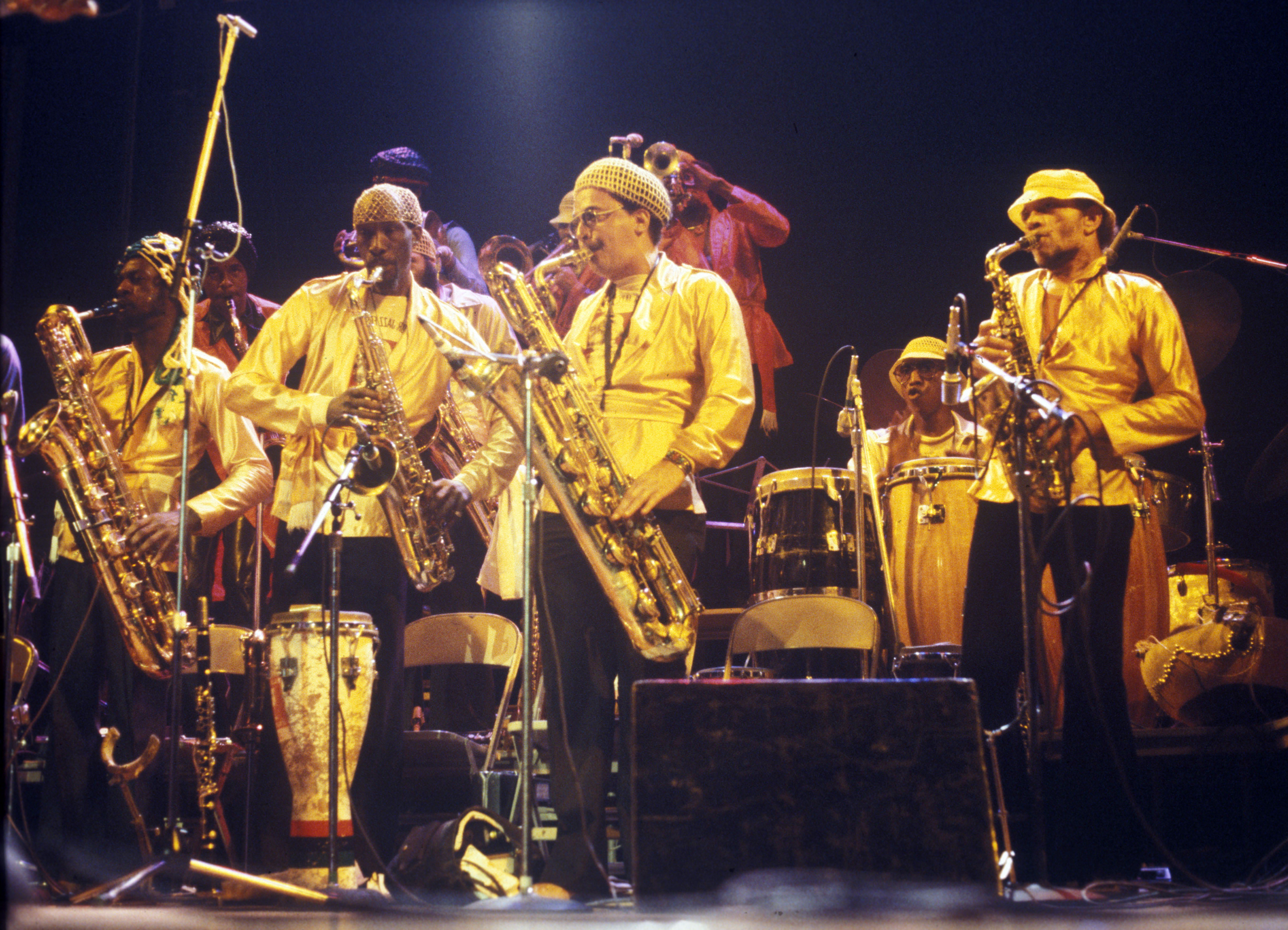 Sun Ra with The Sun Ra Arkestra at Hill Auditorium, September 28, 1979 image