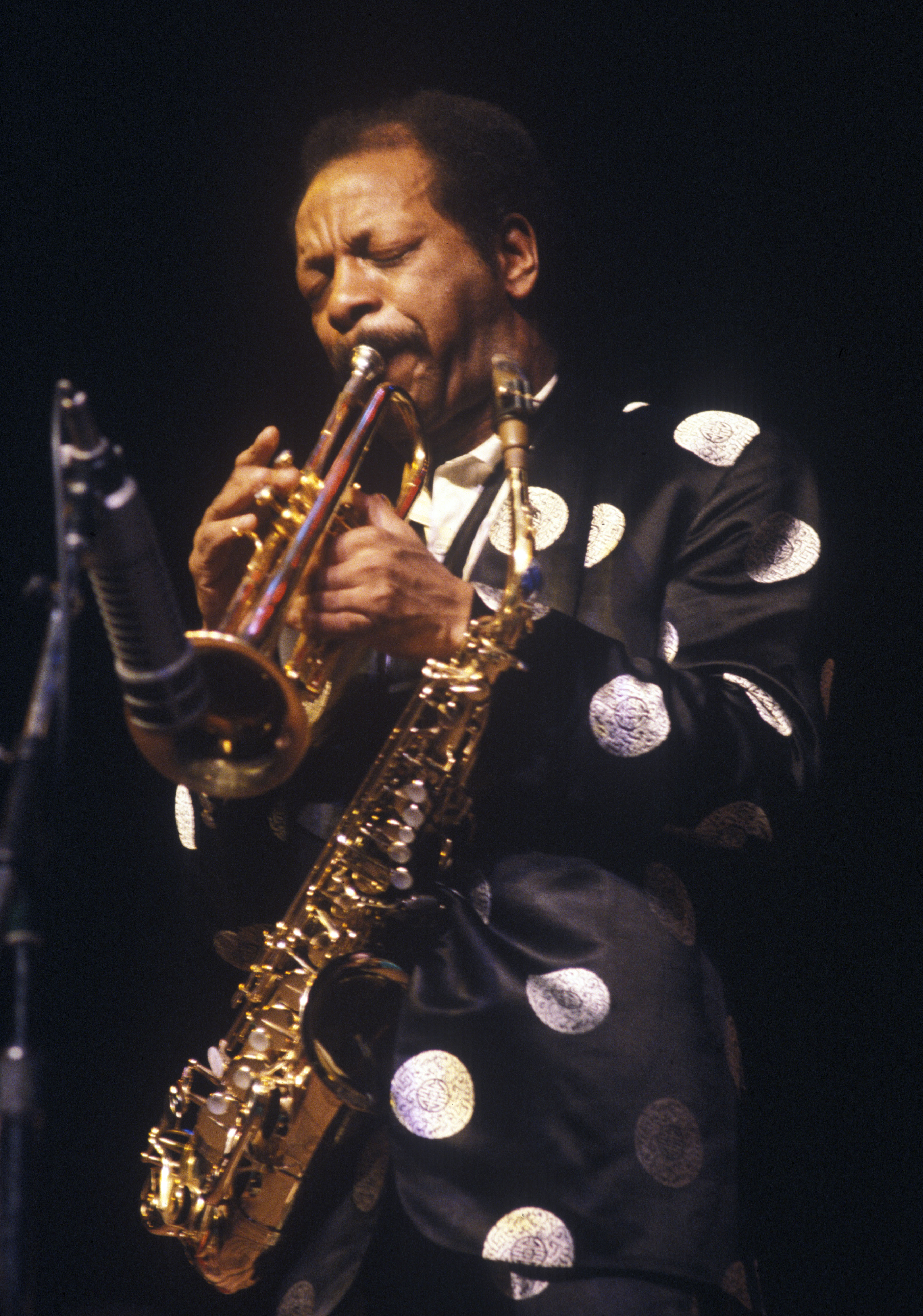 Ornette Coleman at the Power Center, February 18, 1982 image