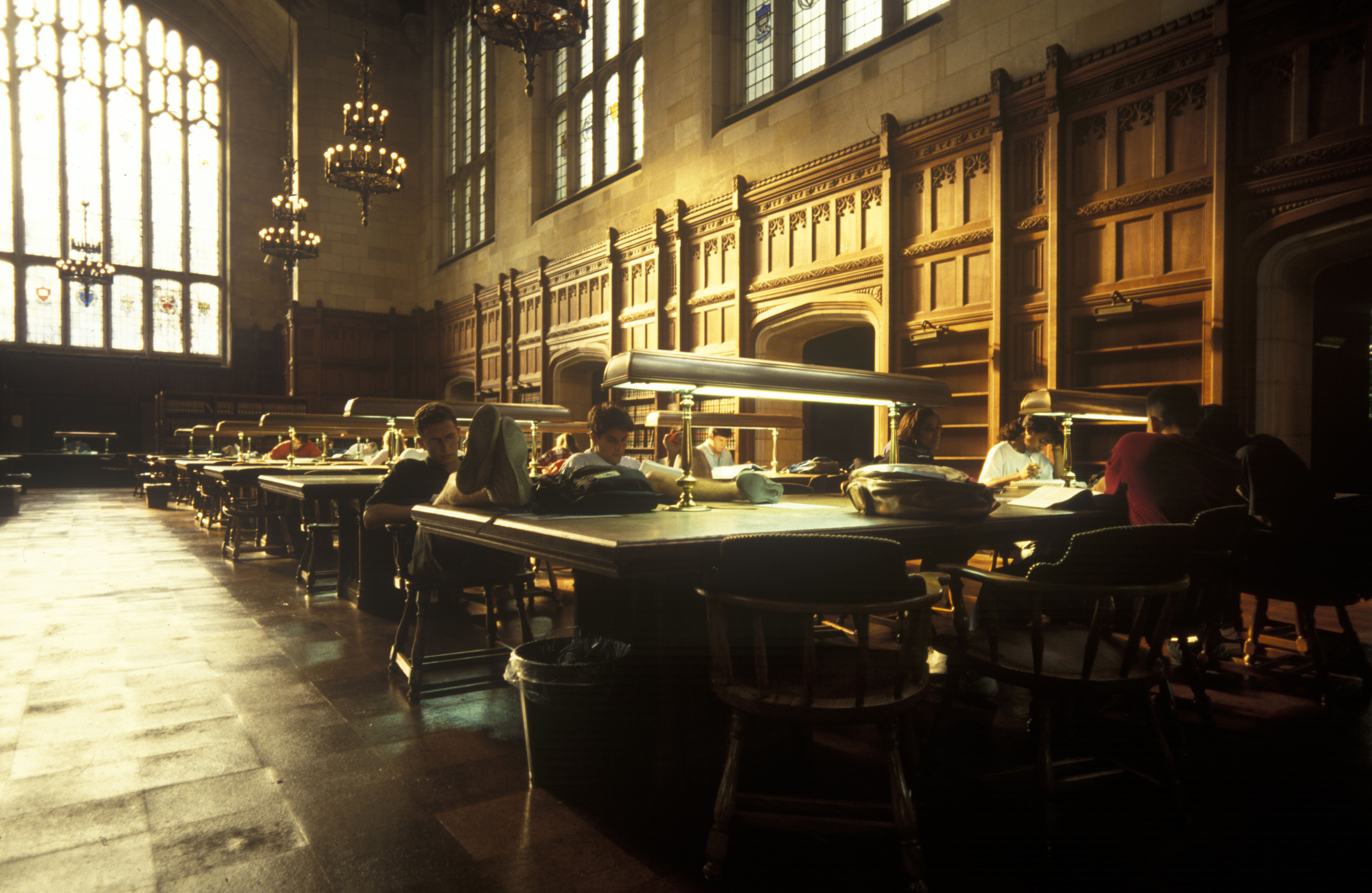 Law School Library, University of Michigan, c.1990s image