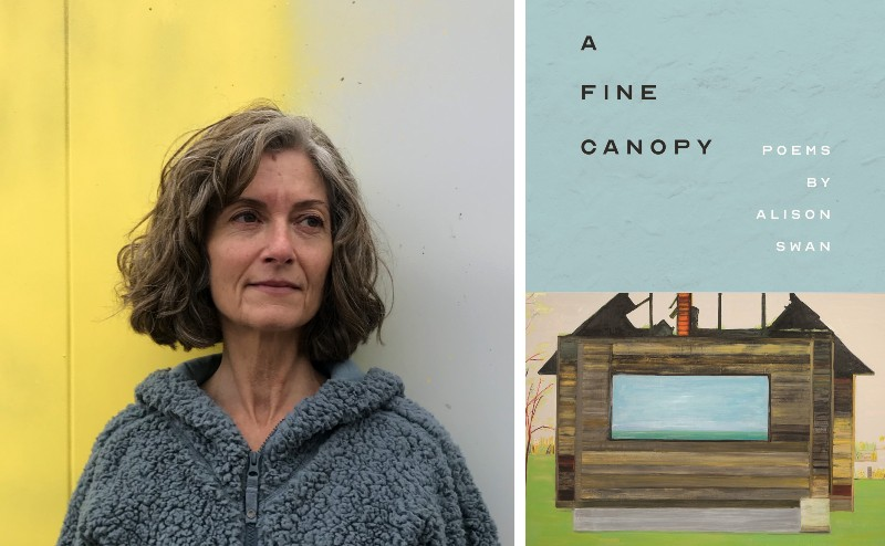 Poet Alison Swan and her book A Fine Canopy