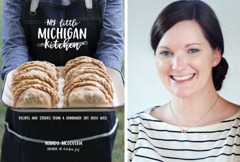 Mandy McGovern and her book My Little Michigan Kitchen