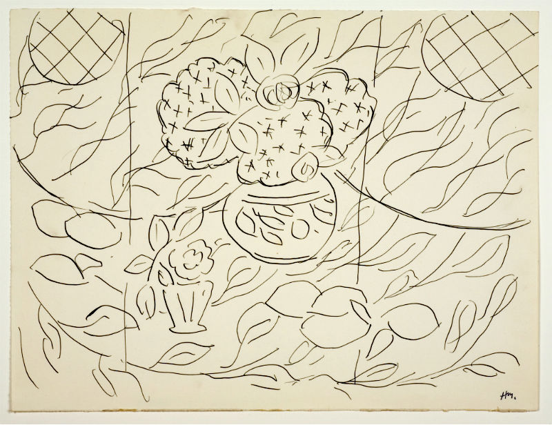 Lemon and Mimosas by Henri Matisse