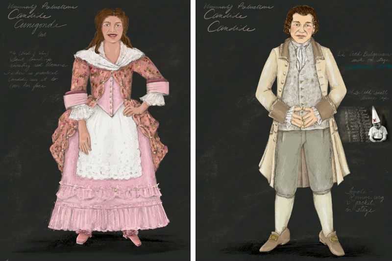 Drawings of Candide
