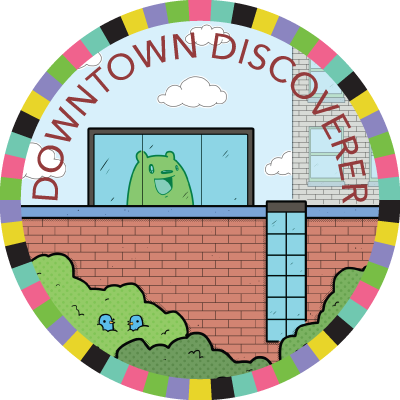 Downtown Discoverer badge image
