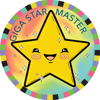 Giga Star Master badge image
