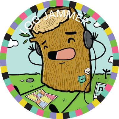 Log Jammer badge image
