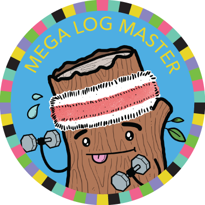 Mega Log Master badge image