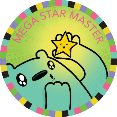 Mega Star Master badge image