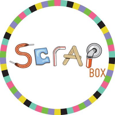 The SCRAPBox badge image