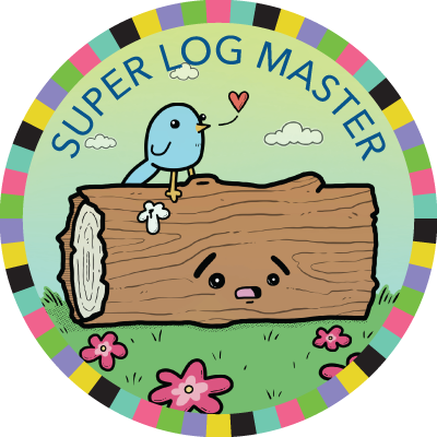 Super Log Master badge image