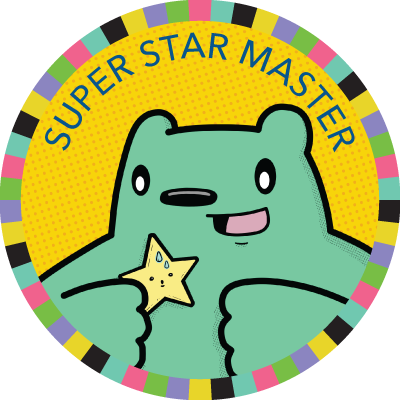 Super Star Master badge image