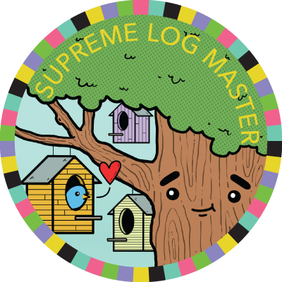 Supreme Log Master badge image