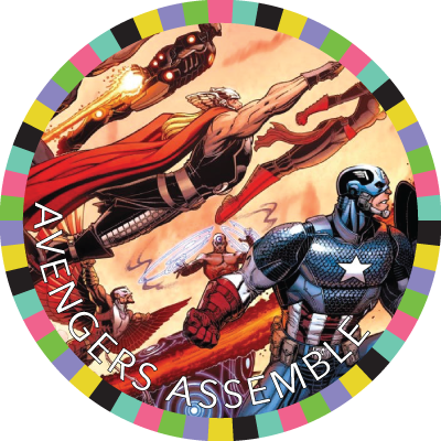Avengers Assemble badge image
