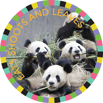 Eats Shoots & Leaves badge image