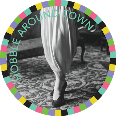 Hobble Around Town badge image
