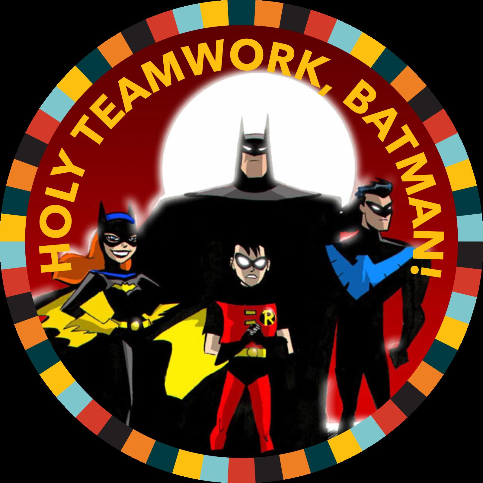 Holy Teamwork, Batman!