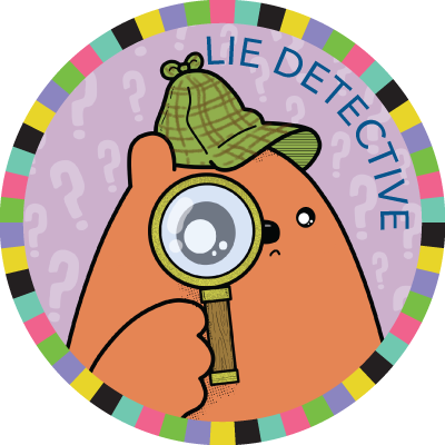 Lie Detective badge image