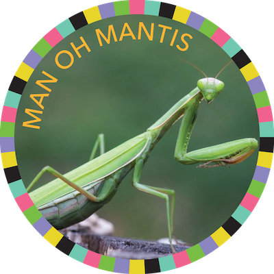 Man Oh Mantis badge image
