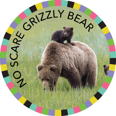No Scare Grizzly Bear  image