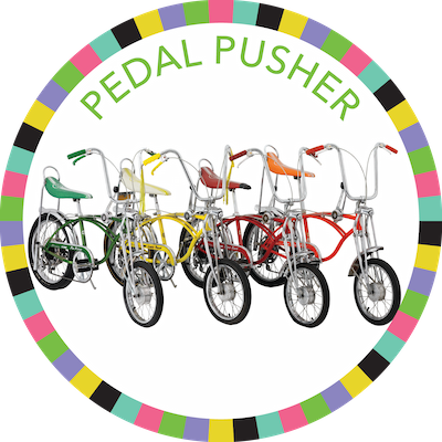 Pedal Pusher badge image