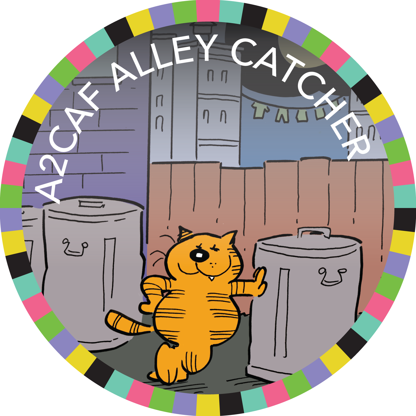 A2CAF 2018 Alley Catcher badge image