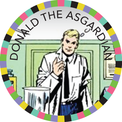 Donald the Asgardian badge image